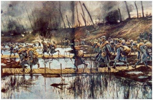 De slag van pilkem de gebeurtenissen van 31 juli 1917 op het grondgebied boezinge woi - Associatie van kleur e geen schilderij ...