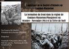 La formation du front dans la région de Comines-Warneton-Ploegsteert en octobre-novembre 1914 et la Trêve de Noël