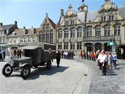 Veurne: Herbegraving van 4 Belgische soldaten: Veurne - 01/07