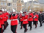 Ieper: End of the poppy parade on Armistice - 11/11
