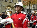 Ieper: Start of the poppy parade on Armistice - 11/11