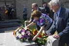Oostvleteren: Eerste herdenkingsplaatje WO1 uitgereikt in Vleteren - 04/07