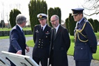 Ieper: British Ambassador Shearma visited the CWGC - 03/03
