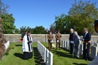 Wijtschate: Rededication for Capt. Cecil Thomas Tuff (Frank Mahieu) - 14/05