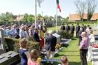 Vlamertinge: Inhuldiging monument (en ere-perk) ter nagedachtenis van alle oud-strijders en oorlogsslachtoffers van beide Wereldoorlogen uit Vlamertinge - 08/05