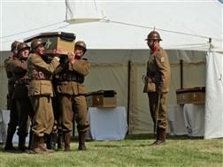 Diksmuide: Herbegraving van 4 Belgische soldaten: Diksmuide - 01/07