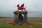 Langemark: Groenaanleg Welsh Memorial - 21/02