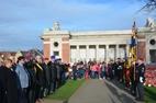 Ieper: Ceremonie Indisch monument - 12/11