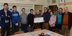 Poperinge: Cheque van 7.122 euro voor barak De Lovie - 13/11