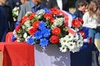 Ieper: Begrafenis van 9 Franse soldaten - 23/09