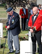 Wijtschate: 102th anniversary of the death of James Slack - 25/08