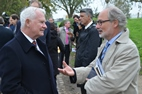 Ieper: Gouverneur-Generaal van Canada op de site John McCrae - 28/10