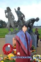 Poperinge: Inhuldiging Chinese herdenkingssite Busseboom - 15/11