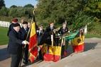 Ieper: Ceremonie op Bedford House Cemetery - 25/10