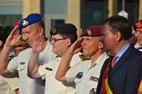 Poperinge: Plechtigheid Vierdaagse aan het oorlogsmonument - 25/08
