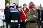 Ploegsteert: New Zealand ceremony for Anzac Day - 25/04