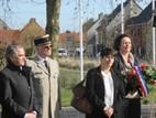 Nieuwpoort: Bezoek Franse consul-generaal (F. Van Loo) - 24/02