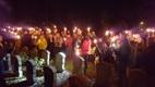 Steenkerke: Herdenkingsfakkeltocht 11 november in Steenkerke - 11/11