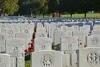 Zillebeke: Rededication for Lt. John Butt, Hooge Crater Cemetery (Frank Mahieu) - 09/10