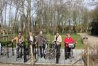 Zonnebeke: Inhuldiging fietsinrijpunt Kasteeldomein Zonnebeke - 11/03