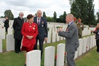 Passendale: Visit of the Governor-General of New Zealand to Tyne Cot - 07/06
