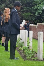 Boezinge: Reopening Colne Valley Cemetery (Frank Mahieu) - 22/06