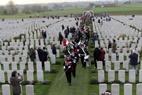 Passendale: Drie Ambassadeurs op Tyne Cot Cemetery - 11/11