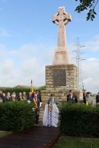Zonnebeke: Herdenking Schots monument op de Frezenberg - 21/08