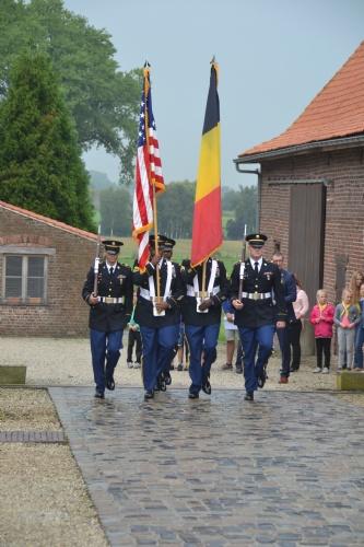 Heuvelland: US Centenary commemoration Vierstraat (Frank Mahieu) - 29/08