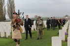 Passendale: Anzac Day Tyne Cot Cemetery - 25/04