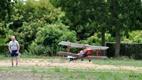 Kaaskerke: Demonstratie met schaalmodelvliegtuigen uit WO1 - 11/07