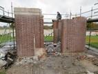 Restauratie CWGC Artillery Wood Cemetery 100 jaar na 1e Wereldoorlog