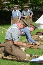 Passchendaele theme weekend with Living History: 29-30/07/2017