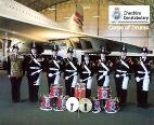 West Yorkshire Police Band and Cheshire Corps of Drums remember Armistice 2015