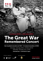 Last Post Association organises its 16th remembrance concert during this year's Armistice commemorations