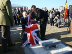 Missing WWI memorial stone laid by Harry Patch returned