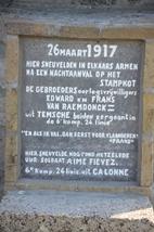 Gebroeders Van Raemdonck stierven 100 jaar geleden