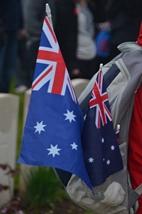 Australische herdenkingsplechtigheid '100 jaar slag bij Polygoonbos
