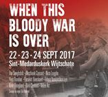 Multimedia spektakel 'When this bloody war is over' te Wijtschate