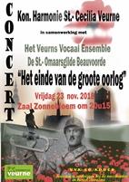 Concert: Het einde van de Groote Oorlog