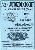 32e Autozoektocht door de Westhoek vanuit Elverdinge