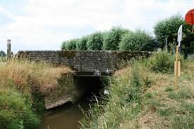 Voorlopige bescherming van een Britse brug uit de Eerste Wereldoorlog in Heuvelland en Ieper