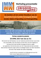 Extra presentatie Erfgoeddag in het Lange Max Museum