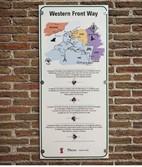De Western Front Way start in Nieuwpoort