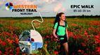 1400 wandelaars stappen eerste Western Front Trail