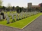 Six soldiers toi be buried at Ypres Town Cemetery