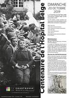 Herdenking Belgisch Hospitaal Neuville-sous-Montreuil