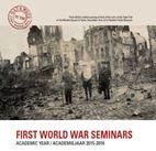 Kent en Ieper organiseren samen seminariereeks over de Groote Oorlog