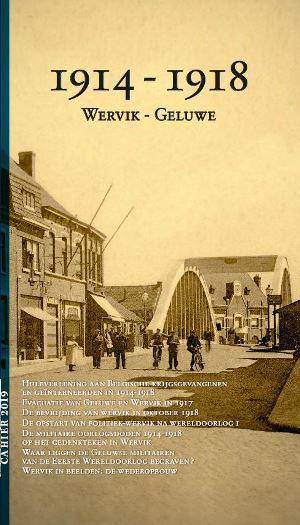 Cahier 4: 1914-1918 Wervik-Geluwe