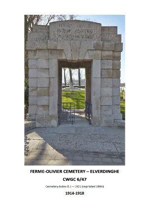Ferme Olivier Cemetery 1914-1918 - Elverdinghe
